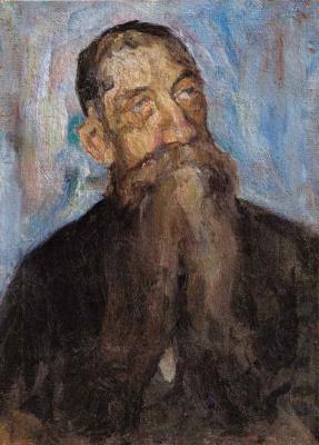 Anatoly Galaktionovich Petritsky. Portrait of an old man (D. Solovyov)