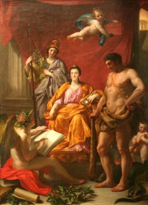 Anton Rafael Mengs. Catherine's Triumph