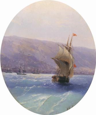 Ivan Aivazovsky. The Form Of The Crimea