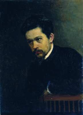 Nikolay Aleksandrovich Yaroshenko. A self-portrait. 1895