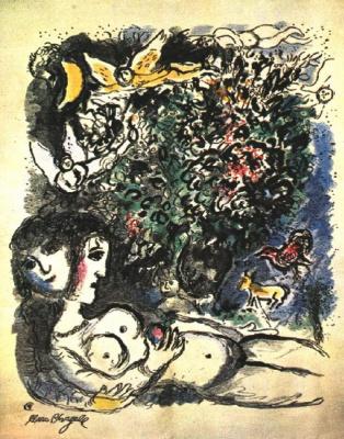 Marc Chagall. Eva