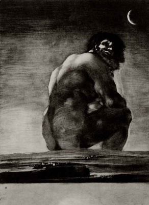 Francisco Goya. Colossus