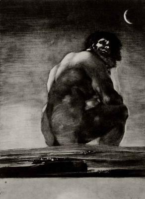 Francisco Goya. Colossus