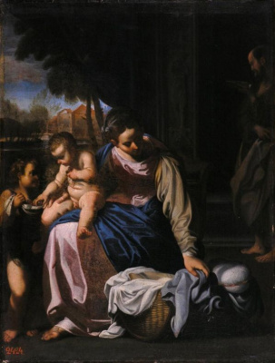 Annibale Carracci. Holy family