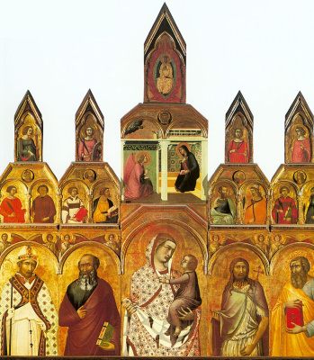 Pietro Lorenzetti. The altar
