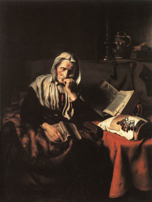 Nicolas Mas. The old woman