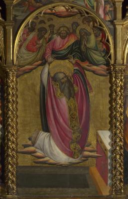 Дал Понте Джованни. Вознесение святого Иоанна Богослова