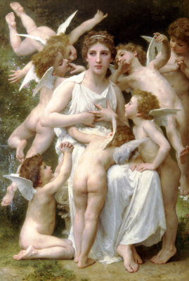 William-Adolphe Bouguereau. Offensive