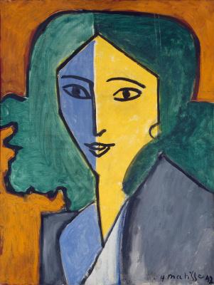 Henri Matisse. Portrait of Lydia Delectorskaya