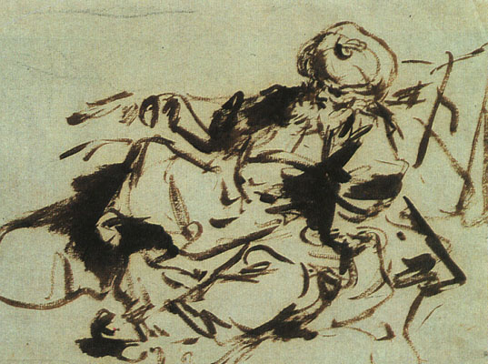 Jean Honore Fragonard. Pasha