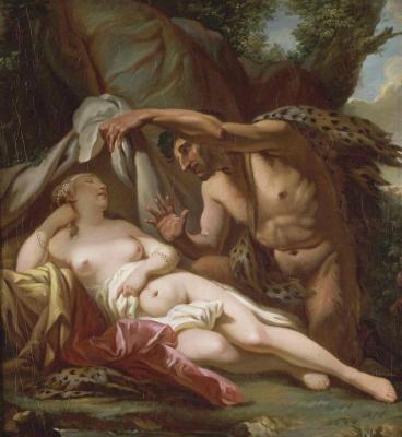 Jacques-Louis David. Jupiter and Antiope