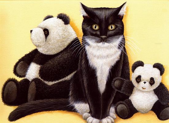 Лоуэлл Херроро. Панды и кот