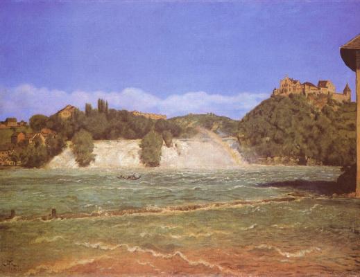 Ханс Тома. Водопад на Рейне близ Шаффхаузена