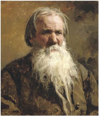 Василий Дмитриевич Поленов. Портрет Василия Петровича Щеголенка