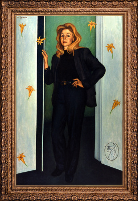 Nikolai Nikolayevich Sednin. Portrait Of Tatiana Panich
