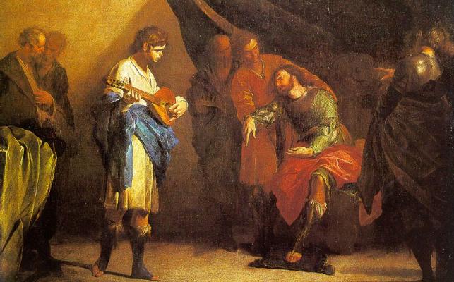 Бернардо Каваллино. Святой Иоанн Богослов