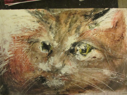 Chetverikov Alexander. Cat