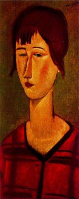 Амедео Модильяни. Женщина с короткой стрижкой