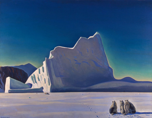 Rockwell Kent. Hunter of seals. North Greenland