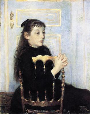 Theo van Rysselberghe. Portrait of Camille van Mons