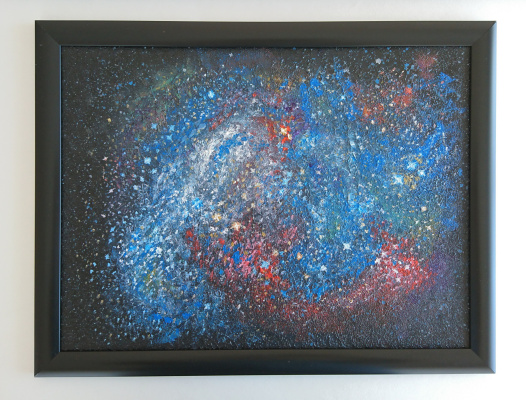 Lumay. Starry sky