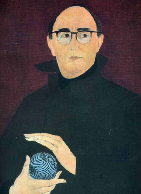 Will Barnet. The man in glasses