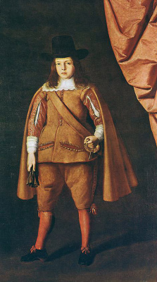 Francisco de Zurbaran. Portrait of the Duke of Medinaceli