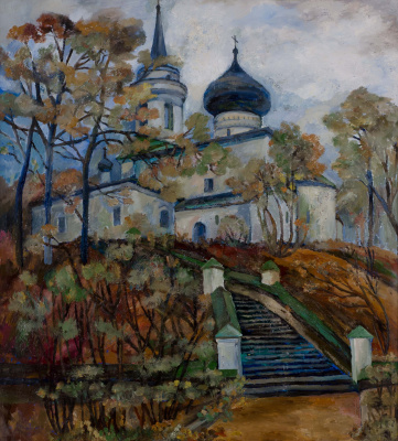 Tatiana Mykolaivna Motherland. Svyatogorsky monastery