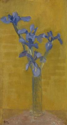 Piet Mondrian. Irises