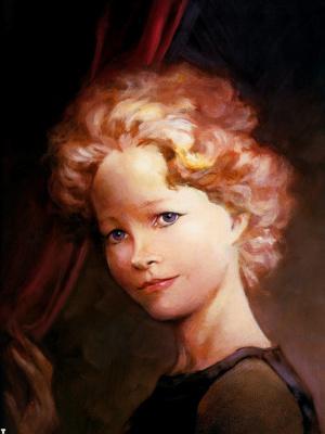 Фрэнк Фраззетта. Портрет девушки