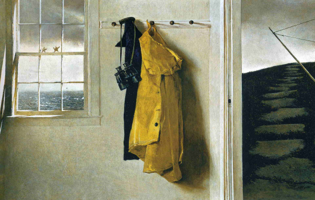 Andrew Wyeth. Squall