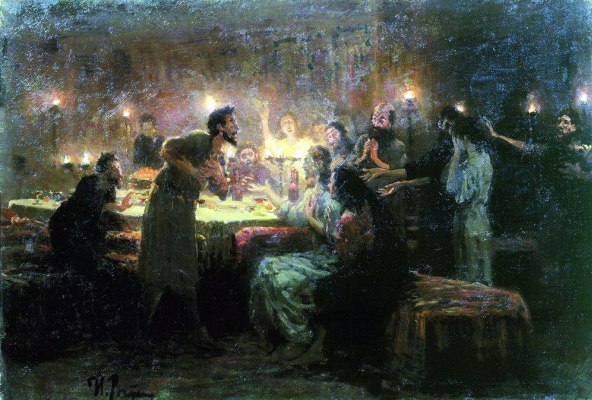 Ilya Efimovich Repin. If all that's not me. . .