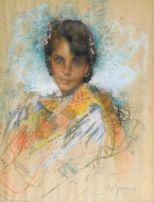 Lucien Levi-Durme. Gypsy.