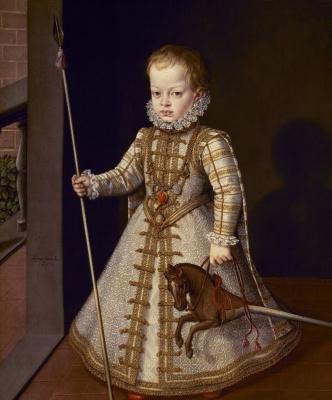 Alonso Sanchez Coello. Portrait of Don Diego, son of Philip II