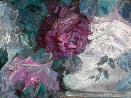 Natalie Nikolaevna Oreshnikova. Vintage roses
