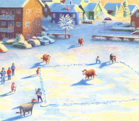 Даниэль Лейн. Рождественские коровы 11