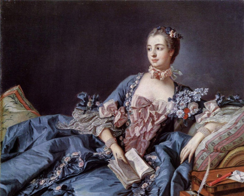Francois Boucher. Portrait of Madame Pompadour