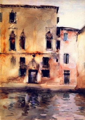 Джон Сингер Сарджент. Палаццо Марчелло. Венеция