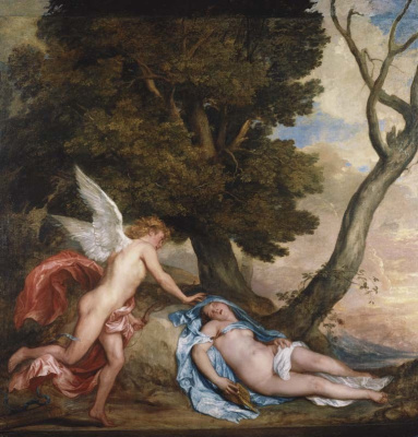 Anthony van Dyck. Cupid and Psyche