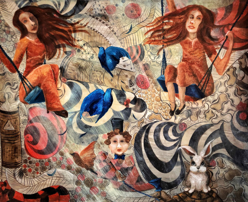 Мария Солнечная. As Rabbit wrote a fairy tale