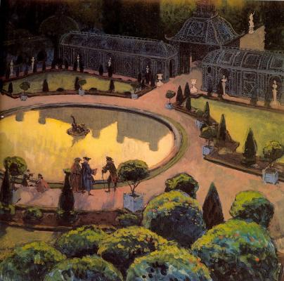 Alexander Nikolaevich Benoit. Greenhouse