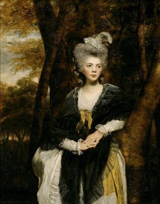 Joshua Reynolds. Portrait of lady Frances Finch