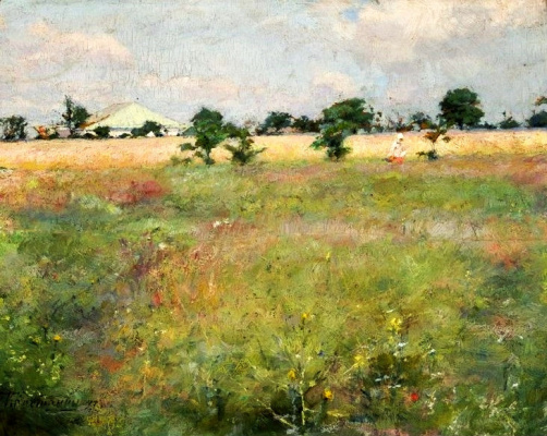 Kiriak Konstantinovich Kostandi. Landscape