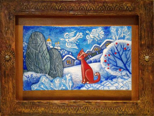 Елена Коновалова. Морозные птицы