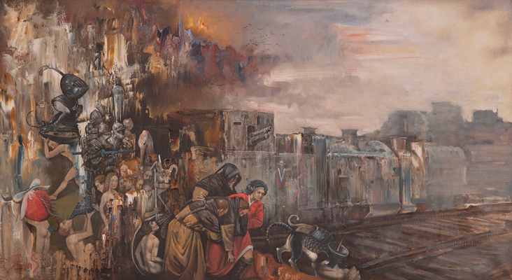 "Andrey Romasyukov. Lieutenant Gvozdev's dream at Kastornaya station. Series ""From the Great War to the Great Troubles"""