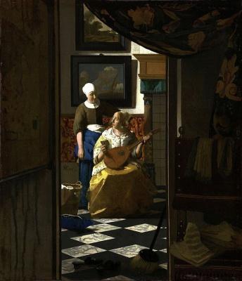 Jan Vermeer. Love letter