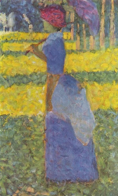 Georges Seurat. Woman with Umbrella
