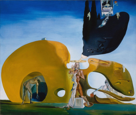 Salvador Dali. The birth of liquid desires