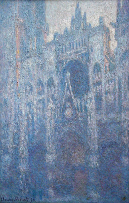 Claude Monet. Rouen Cathedral, clear day