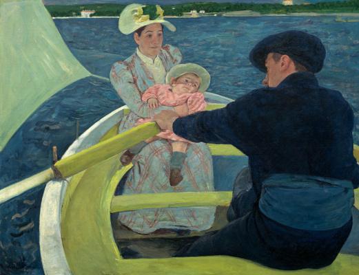 Mary Cassatt. Boating